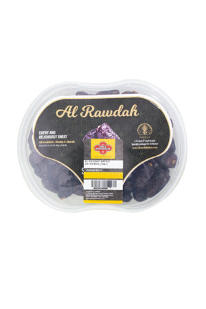 AL RAWDAH SAFAWI DATES 800G TRAY