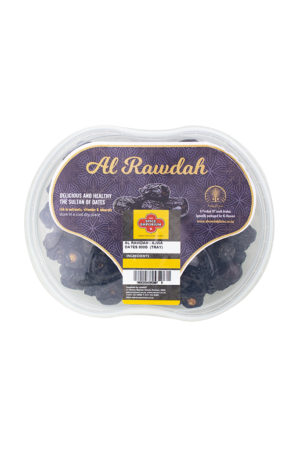 AL RAWDAH AJWA DATES 800G TRAY
