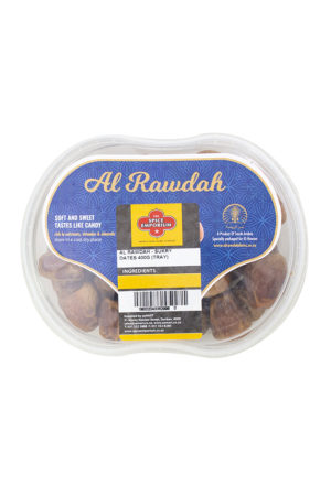 AL RAWDAH SUKRY DATES 400G TRAY