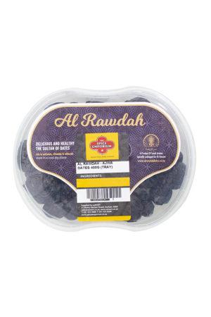 AL RAWDAH AJWA DATES 400G TRAY