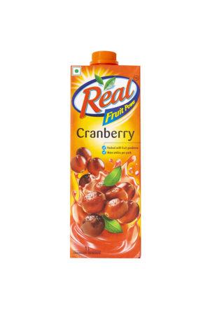REAL JUICE CRANBERRY 1LTR