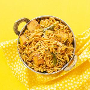 Quick-and-easy-paneer-biryani-recipe